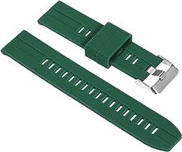 Romacci Pulseira de relógio de silicone 22mm pulseira de liberação rápida com fivela macia pulseira respirável compatível ...