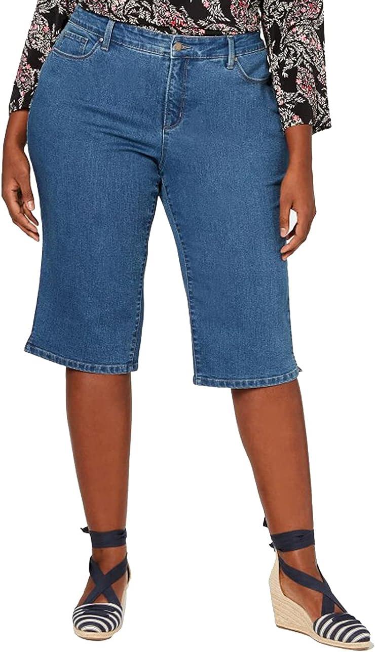 Charter Club Womens Plus Size Skimmer Jeans, Lyon Wash, 16W