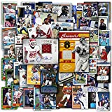 NFL Football Trading Cards Mega Pack   100 NFL Sports Cards   2 Official NFL Autographed, Jersey or Relic Cards in Every Pack   Perfect Starter Set   Sports Collectible Trading Card Packs & Boxes