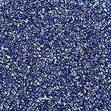 Xuebai Vidrio Piedra triturada Chunky Glitter Chips de Vidrio Irregulares Resina epoxi Molde de Relleno Vidrio Piedra triturada Azul