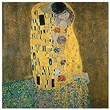 JUNIWORDS Poster, Gustav Klimt, Der Kuß, Der Kuss, Das