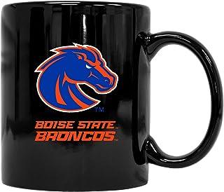 Boise State Broncos Black Ceramic Mug