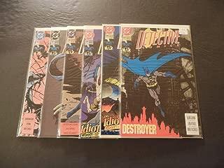 6 Iss Detective Comics #636-641 Sep 1991-Feb 1992 Copper Age DC Comics