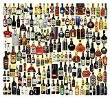 Diverses puzzles de bouteille de vin, puzzle en bois puzzles, puzzles 500 pièces, jeux de décompression adulte, jeux éducatifs pour enfants, puzzles d'avion, cadeaux d'anniversaire, jouets de vacances