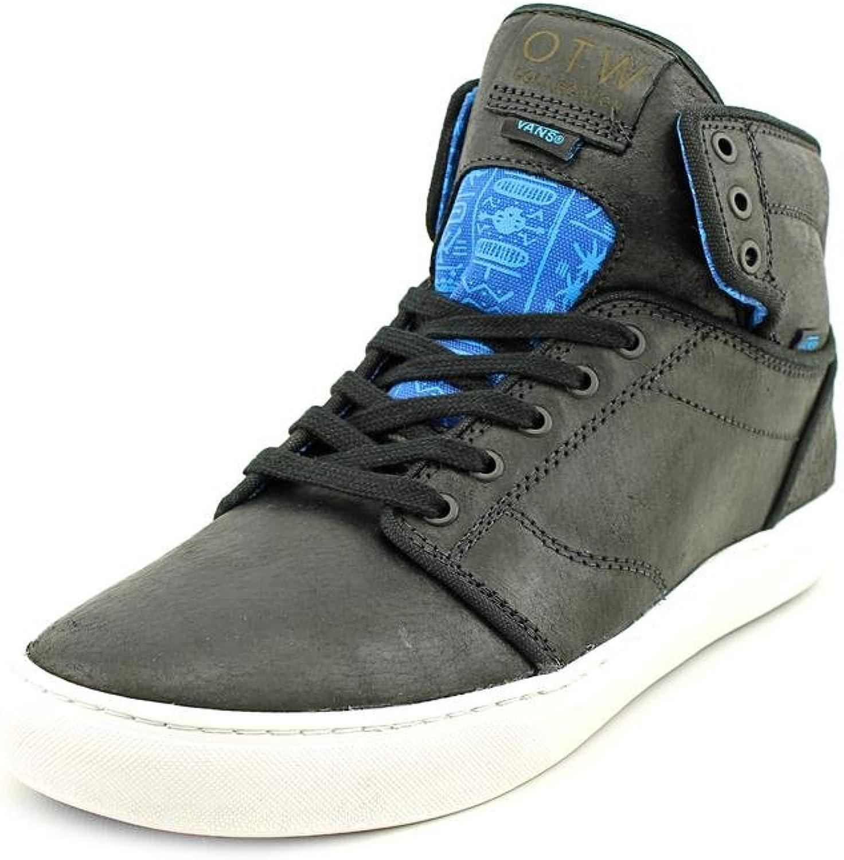 Vans M ALOMAR TRIBES Black bluee Leather Men Sneakers shoes