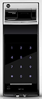 Yale YDR4110 Digital Rim Lock, Fingerprint, Keypad, Black