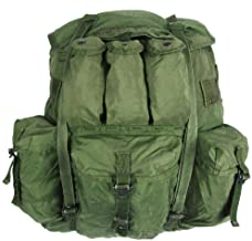 USGI Military Large Olive Drab Alice Pack w/ Straps / Frame / Pad