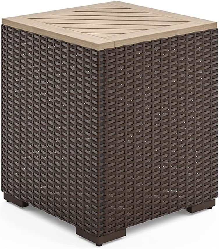 Homestyles 6800-20 shopping End Super sale period limited Table Seat Brown 1