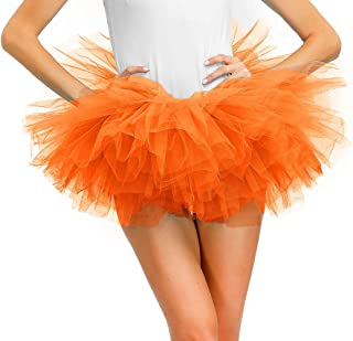 Women's Layered Tulle Tutu Skirt Ballet Dance Bubble Puffy Tutus