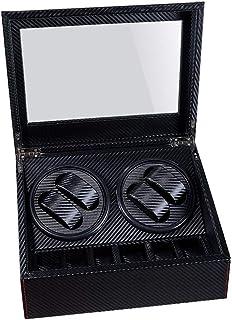 WATCH WINDER 4+6 Highend Automatic Watch Winder Box Watches Storage Jewelry Holder Display PU Leather Watch Box Ultra Quie...
