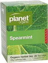 Planet Organic Spearmint Herbal Tea 25 Teabags