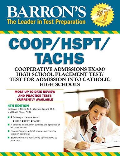 COOP/HSPT/TACHS (Barron's Test Prep)