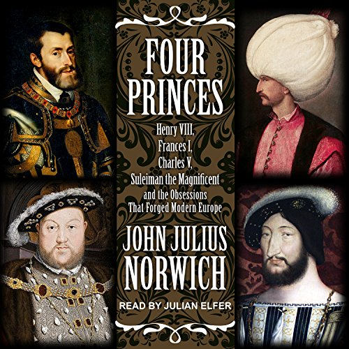 Four Princes audiobook cover art