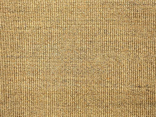 HEVO® Sisal Naturfaser Kollektion - Salsa Sisal Teppichboden Muster in 6 Farben - Inkl. 2% Bestellgutschein Honig