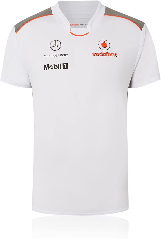 Vodafone McLaren Mercedes Team – Camiseta de Fórmula 1 Button ...