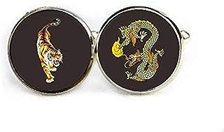 Dragón y Tigre Gemelos, Custom cualquier palabra o foto Gemelos