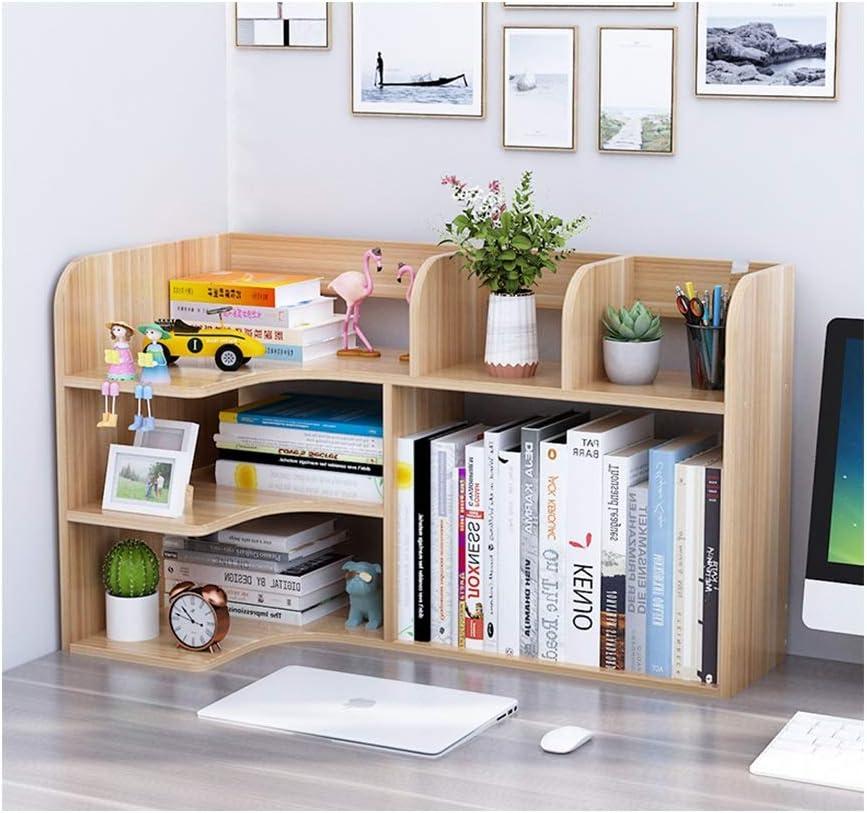 BIAOYU Small Desktop Phoenix specialty shop Mall Bookshelf Wood Desk Storag Organizer Office