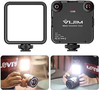 VL-81 LED Video Light w Softbox, Portable Camera Photo Light CRI95+ 3200K-5600K Bi-Color 3000mAh Rechargeable Battery Dimm...