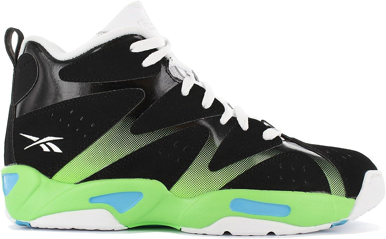 Reebok Kamikaze I Mid Basketball-shoes Black Mens Trainers Sneaker shoes