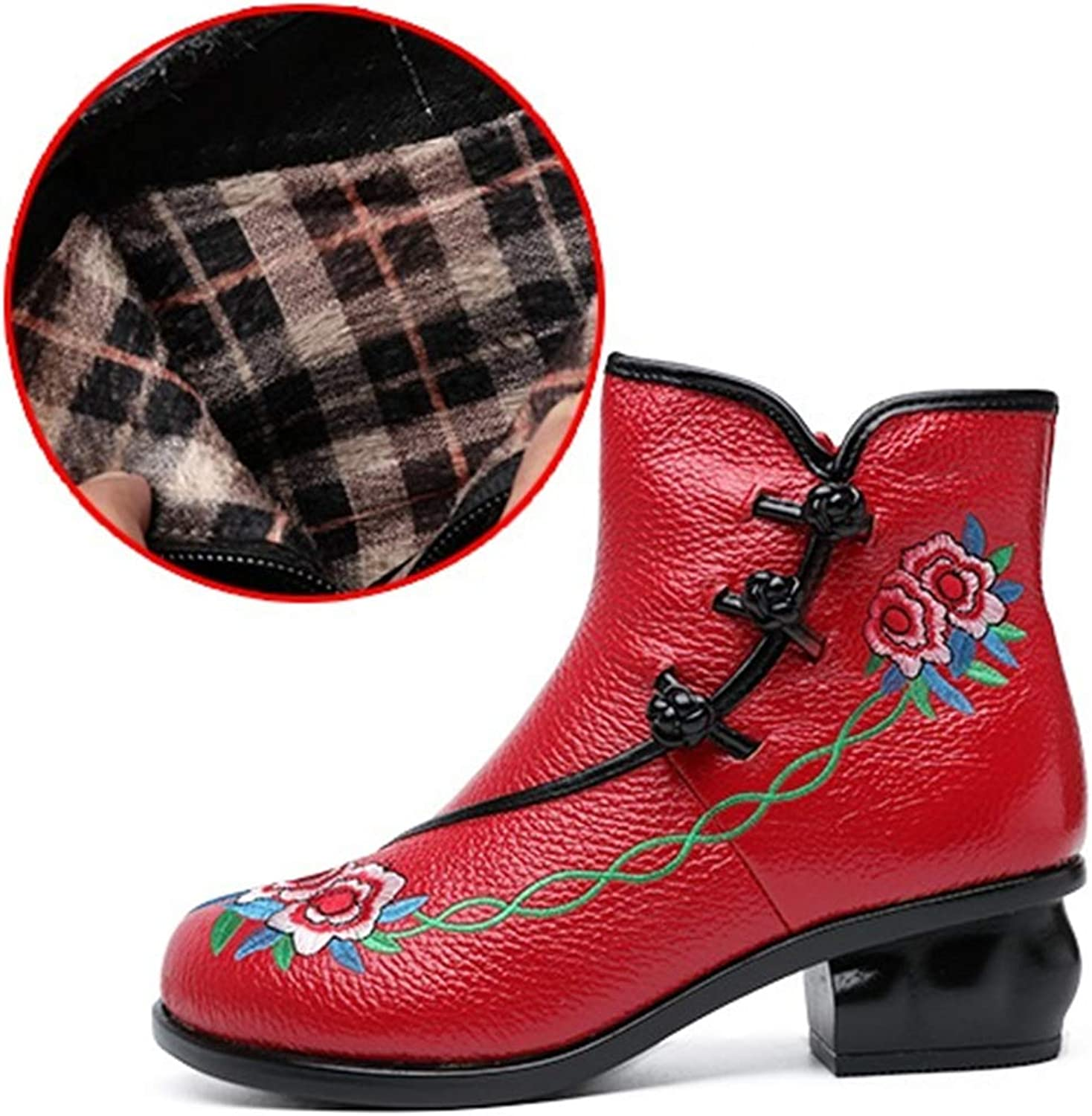FORTUN Classic Wild Martin Boots Ankle Boots Retro Women's Boots Ankle Boots