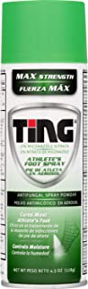 Ting Max Strength Athlete's Foot Spray, 4.5 Ounces