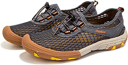 DSFGHE Chaussures De Course D'été pour Les Hommes De Chaussures De Course en Plein Air Chaussures De Randonnée Légères à Séchage Rapide