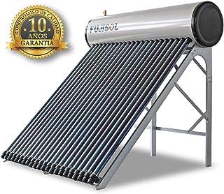 Equipo compacto Termosifón 300L Agua caliente sanitaria Calentador solar