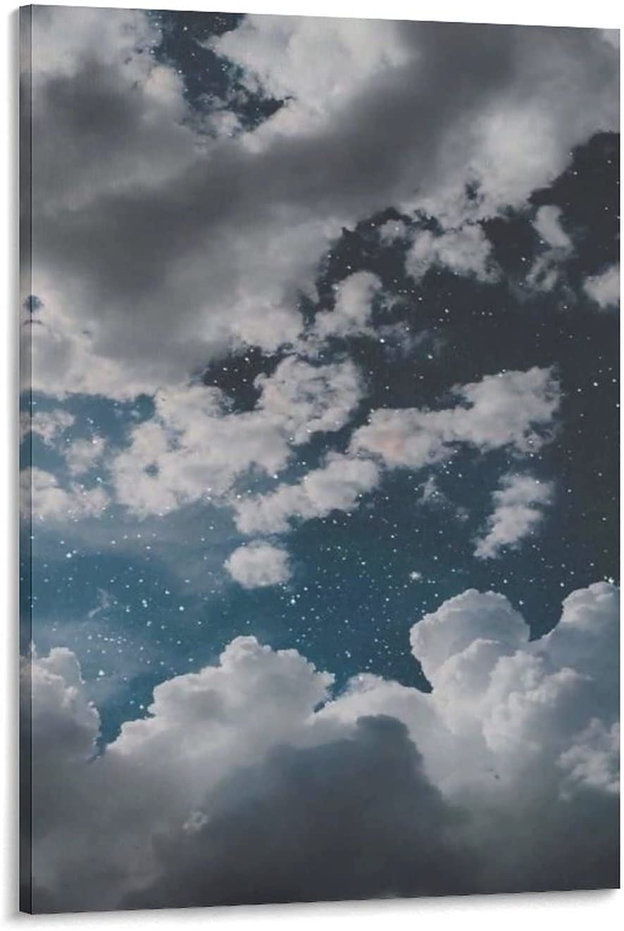 Aesthetic Poster Cloud Canvas Art Pr Wall Max 50% Max 86% OFF OFF Picture and