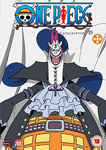 One Piece (Uncut) Collection 15 (Episodes 349-372) [DVD] [Reino Unido]