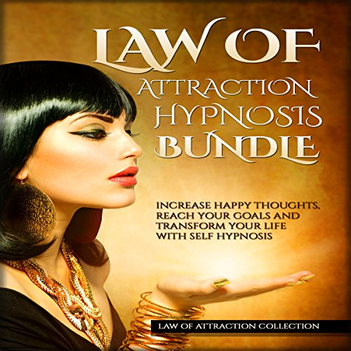 Law of Attraction Hypnosis Bundle audiobook cover art