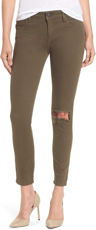 DL1961 Premium Denim Women's Margaux Instasculpt Ankle SkinnyFit Jeans, Basin, 23
