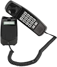 Corded Phone - Phones for Seniors - Phone for Hearing impaired - Black - Retro Novelty Telephone - an Improved Version of ... photo
