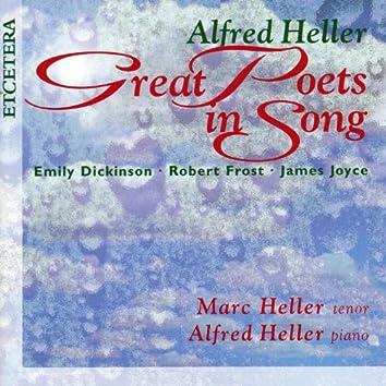 Great Poets in Song, Emily Dickinson, Robert Frost, James Joyce