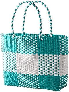 Panier de rangement Eco-friendly extérieur Sac shopping main Weave Panier pique-nique panier de fleur de légumes boîte org...
