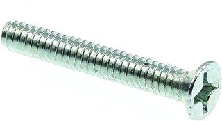 Machine Screws 6//32 x 1//4 Torx Pan Head Sems Sq Cone Steel Zinc Lot of 50 #944