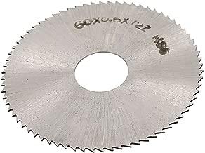 uxcell HSS 60mm x 0.6mm x 16mm Round Cutting Wheel Disc Slitting Saw Cutter