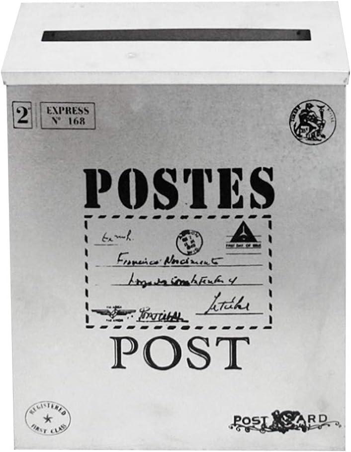 Rose joyMerit Bo/îte Aux Lettres Ext/érieure De Style Vintage Courrier S/écuris/é Mural