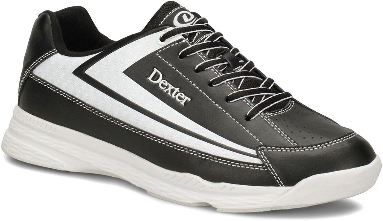 Dexter Boys' Jack II Jr White Black Bowling shoes