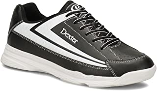Dexter Boys' Jack II Jr White/Black Bowling Shoes
