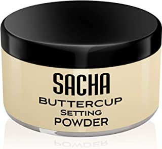 BUTTERCUP LIGHT. flash-friendly face powder makeup for light skin tones. No ashy flashback in bright lighting, selfies & photos. 1.25 oz