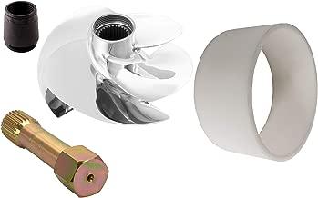 Adonis Impeller Kit Compatible with SeaDoo 2005-2008 RXT GTX LTD 215 2007-2008 GTX WAKE 215 2008 GTX 215 2005 GTX 4-TEC LTD SCIC