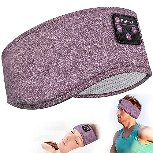 Bluetooth Headband,Lavince Sleep Headphones Wireless Sports Headband Headphones Noise Cancelling Sleeping Headphones Earbuds for Sleep,Workout,Running,Yoga,Travel,Cool Tech Gift for Mom Women Dad Men