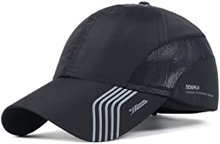 6aa23c99cd2 CATOP Male Baseball Cap Quick Dry Mesh Back Portable Sun Hats For Sports  Golf Running Fishing