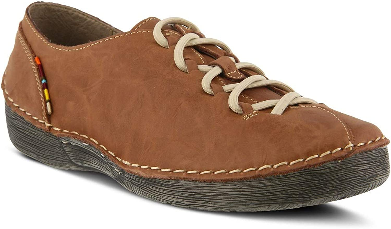 Spring Step Women's Carhop shoes   color Brown Nubuck   Leather shoes