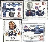 Prophila Collection DDR 2359-2362 (kompl.Ausg.) 1978 Gemeinsamer Weltraumflug UDSSR-DDR (Briefmarken für Sammler) Weltraum
