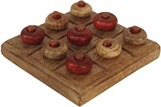 large wooden noughts and crosses