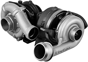 BorgWarner Complete High & Low Pressure Turbocharger Compatible with 2008-2010 Ford 6.4 Powerstroke Diesel