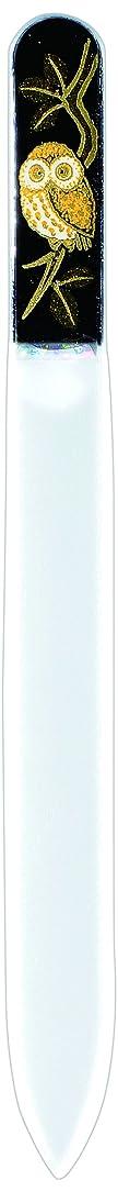 時間とともにクラッチカエル橋本漆芸 ブラジェク製高級爪ヤスリ ふくろう 紙箱