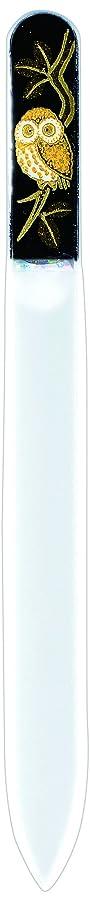 置くためにパック懲戒ミケランジェロ橋本漆芸 ブラジェク製高級爪ヤスリ ふくろう OPP