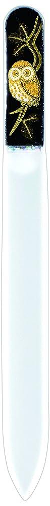 教会損なう移住する橋本漆芸 ブラジェク製高級爪ヤスリ ふくろう 紙箱